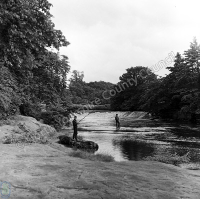 Fishing, River Nidd, Grimble Crags